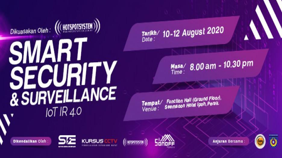 Smart Security And Surveillance IoT IR 4.0